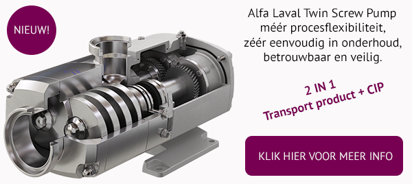 Alfa Laval Twin Screw Pump by Gillain & Co Authorised Distributor
